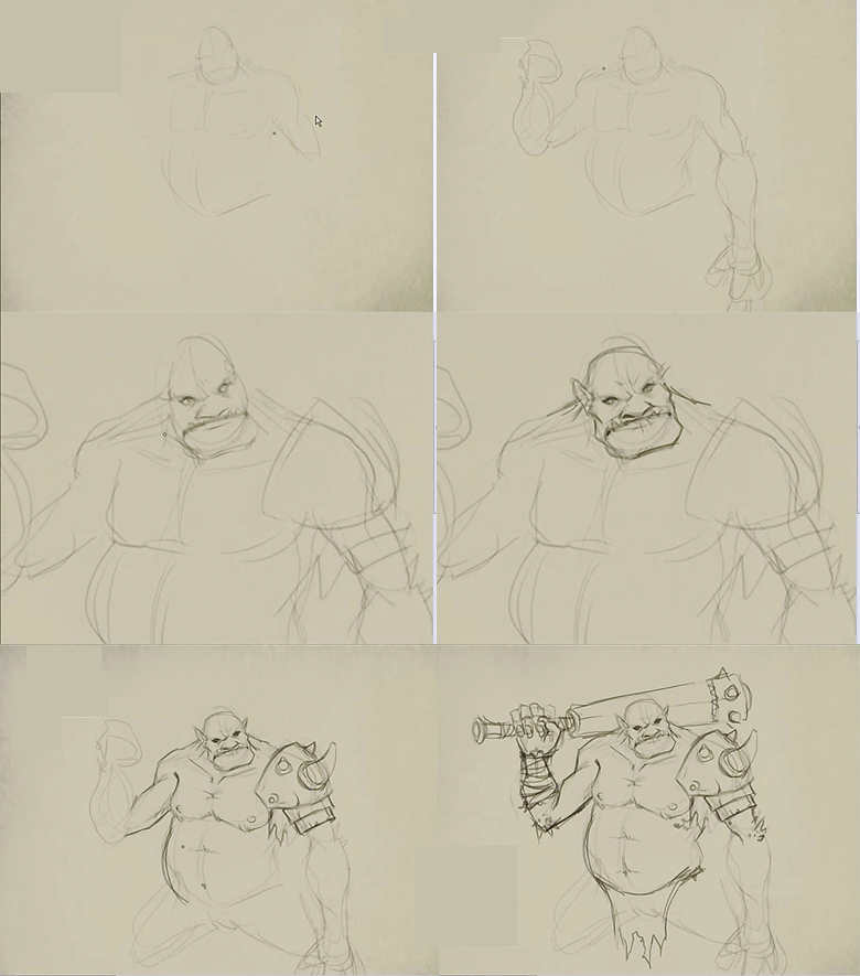 how to draw ogre How to draw Ogre