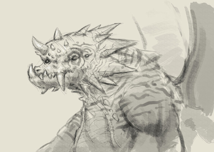 ogre dragon How to draw ogre dragon