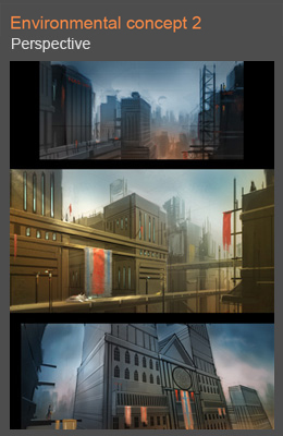 Cityscape environmental tutorial