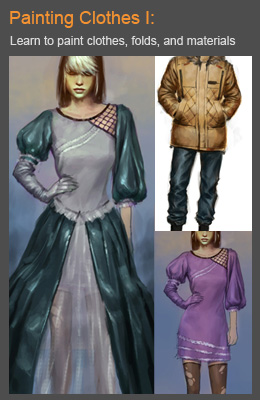 Learn to paint clothes tutorials