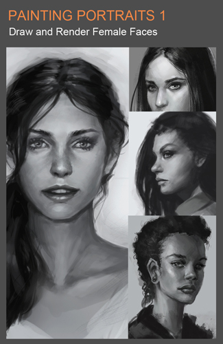 Draw and shade portraits 1