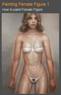 Painting female figure tutorial