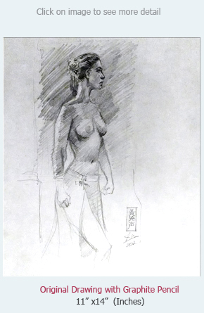 buy original artwork nude