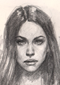 Learn to draw female portraits