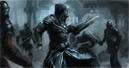 Digital painting tutorial Ezio Auditore Assassin Creed