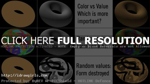Color vs value compare for artists