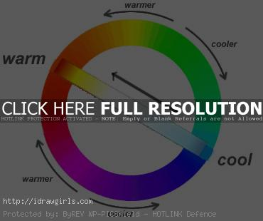 warm cool color wheel