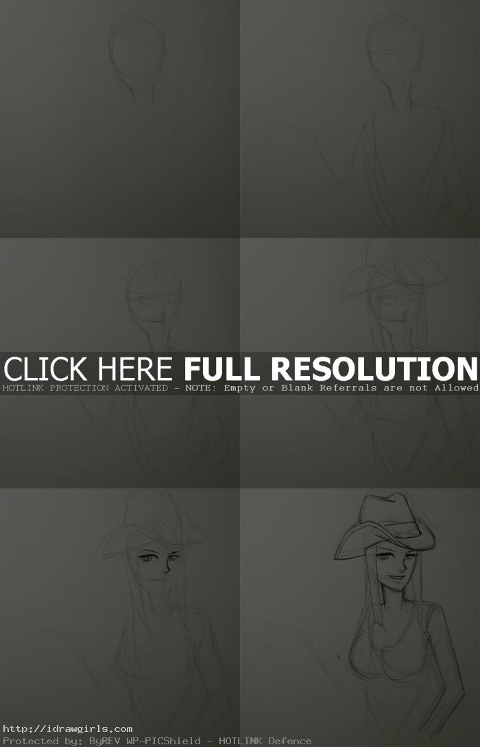 how to draw Nico Robin Anime