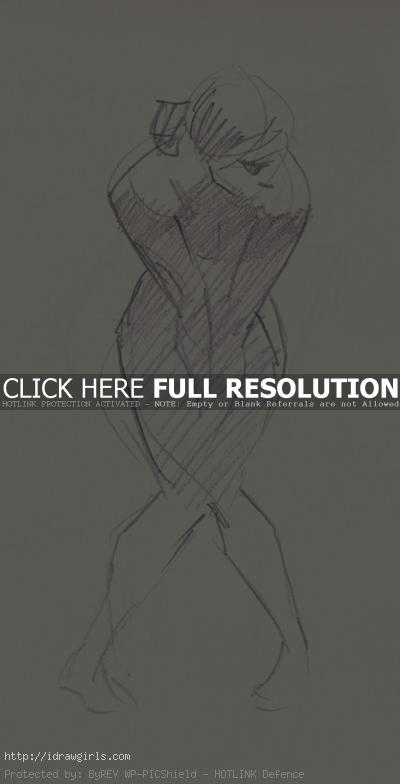 2 minutes gesture drawing