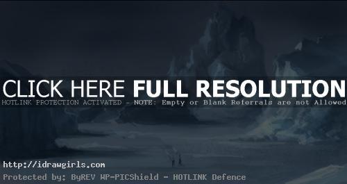 How to paint arctic environmental concept art