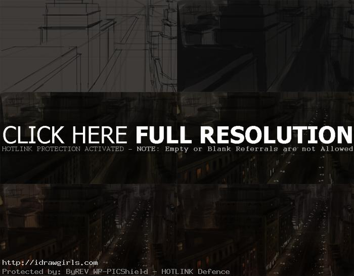 how to draw background with perspective