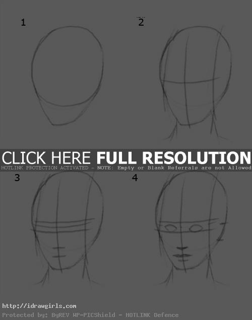 how to draw Marvel style face