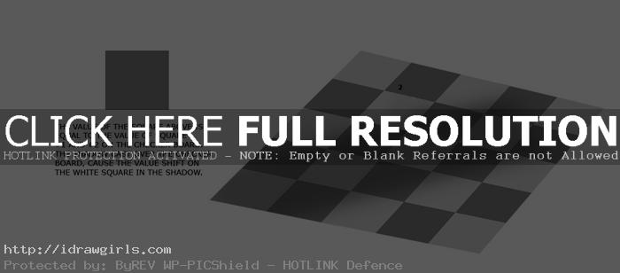 Illusion of value from light and shadow