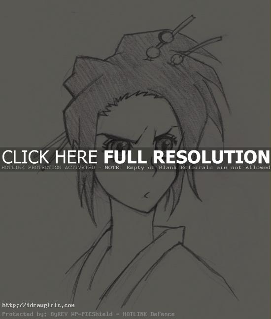 How to draw Fuu Samurai Champloo