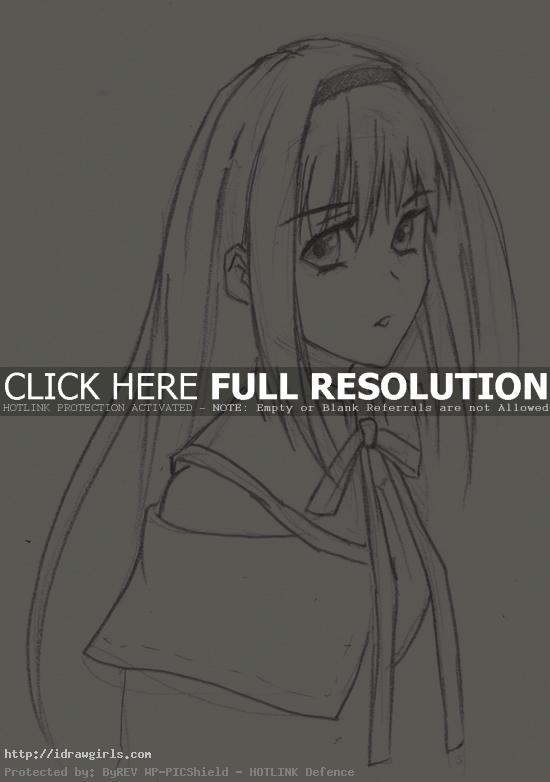 How to draw Homura Akemi
