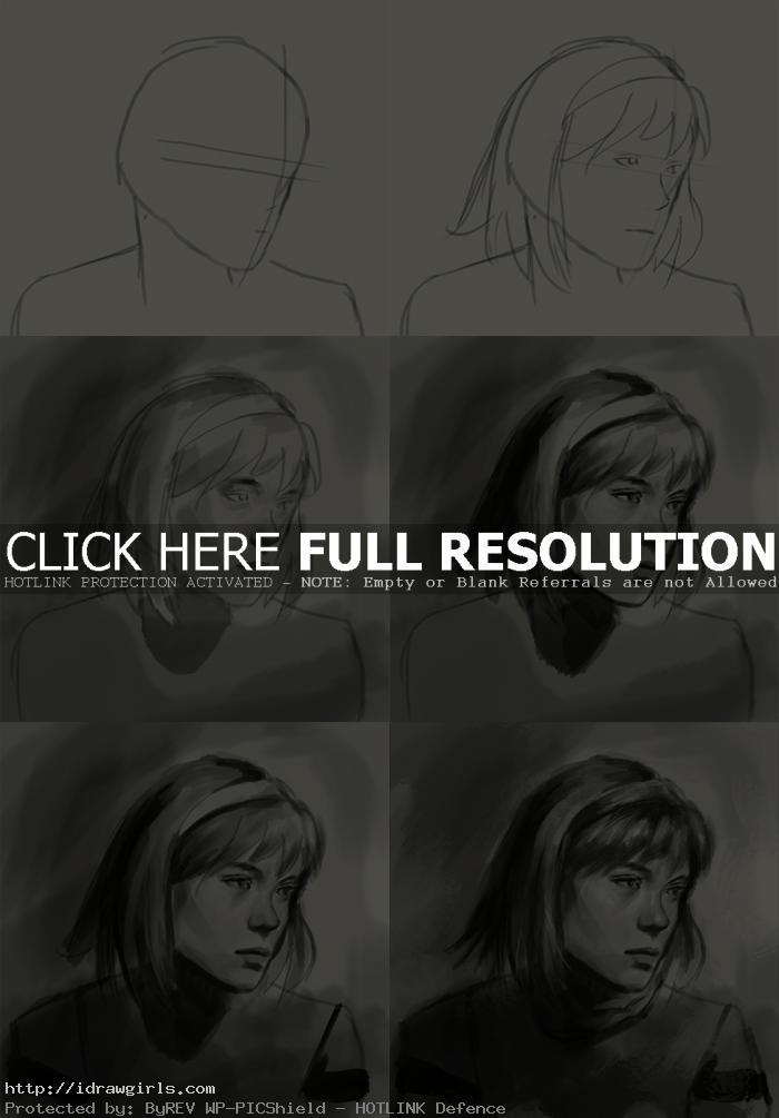 how to draw cyborg 003 Francois Arnoul