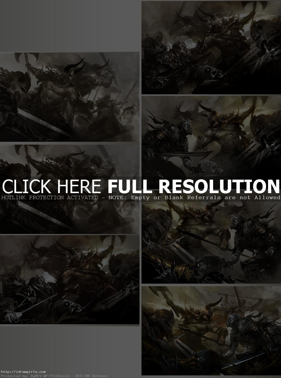 Digital painting tutorial Clash