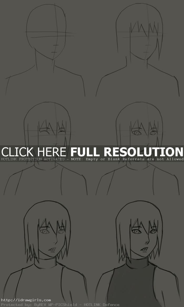 How to draw Houzuki Suigetsu