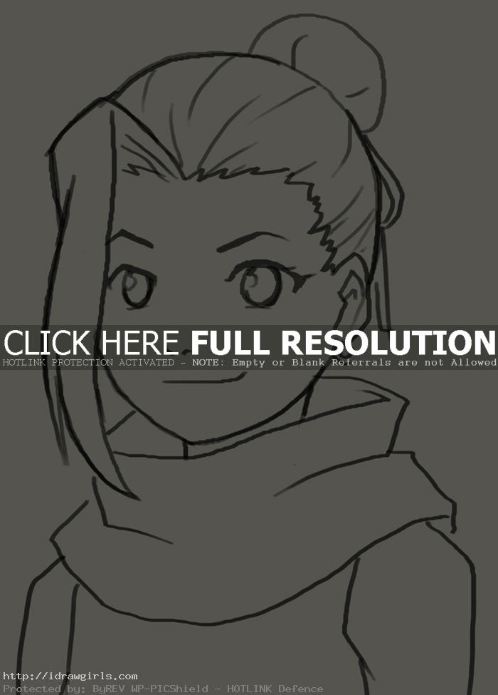 How to draw Yamanaka Ino
