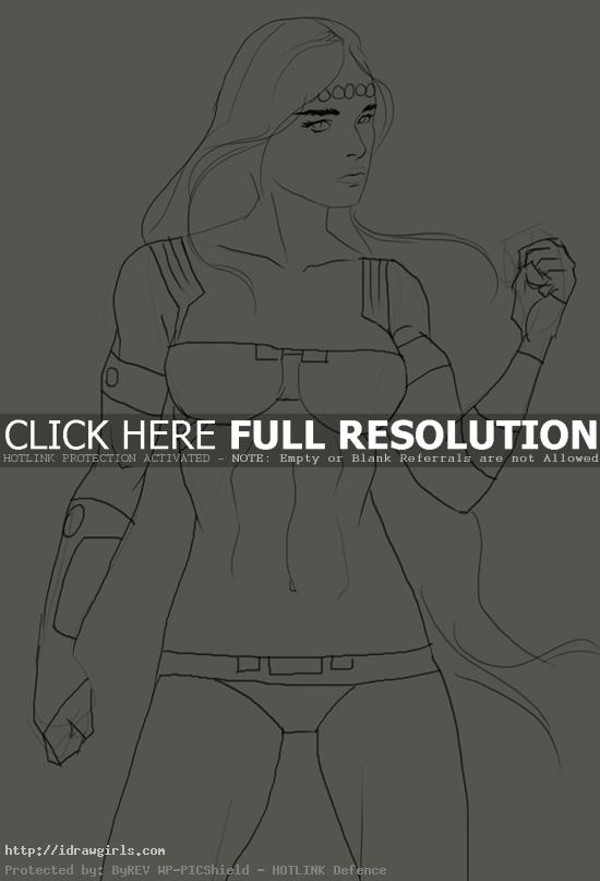 How to draw Barda