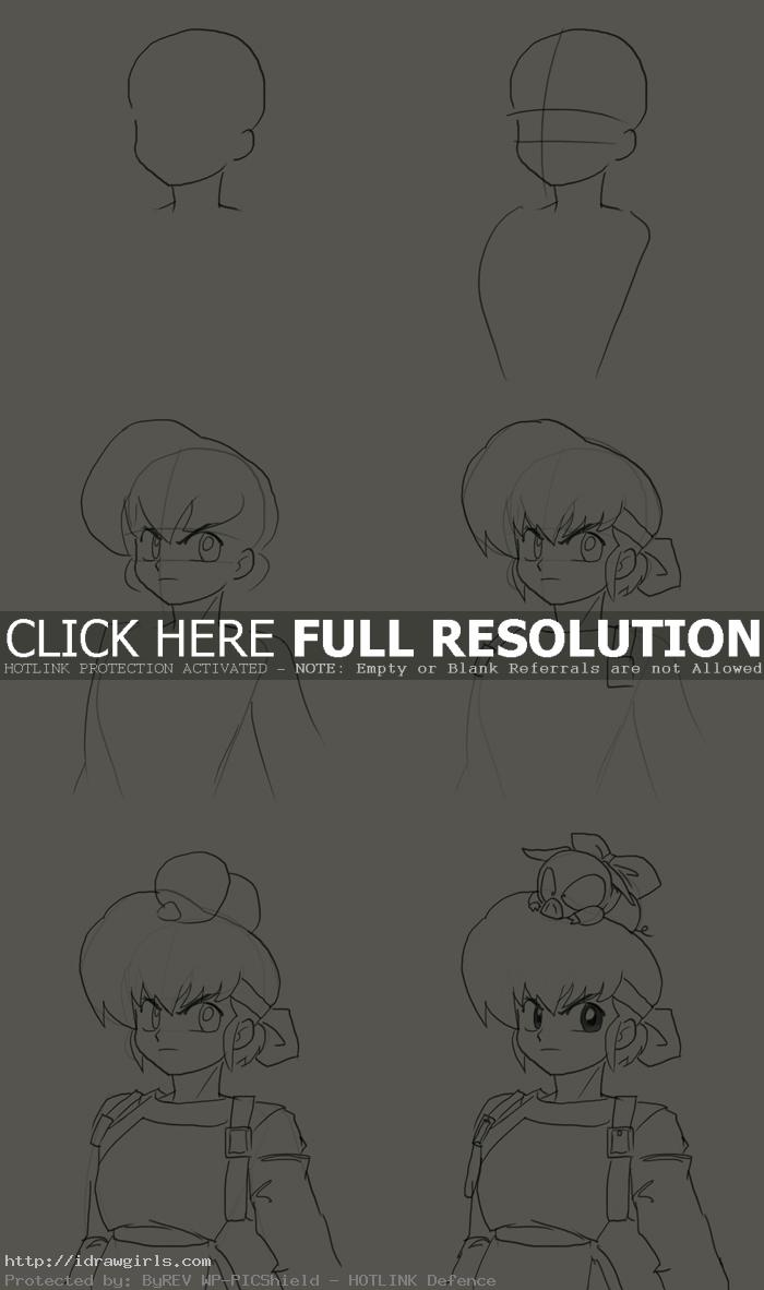 how to draw Ryoga