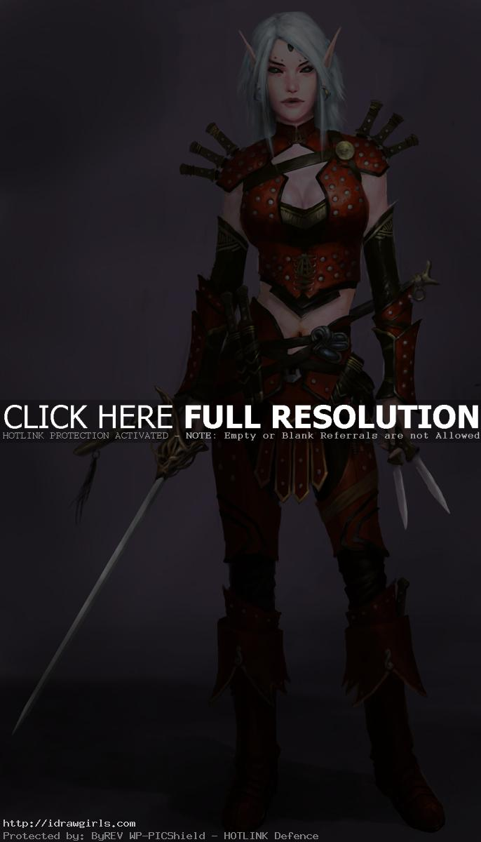 Merisiel Pathfinder Rogue Elf
