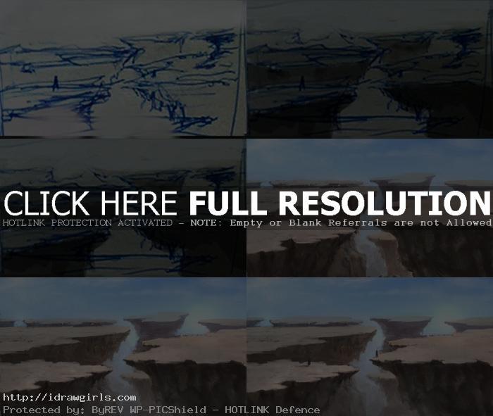 painting shatteredplainsphotoshop tutorial