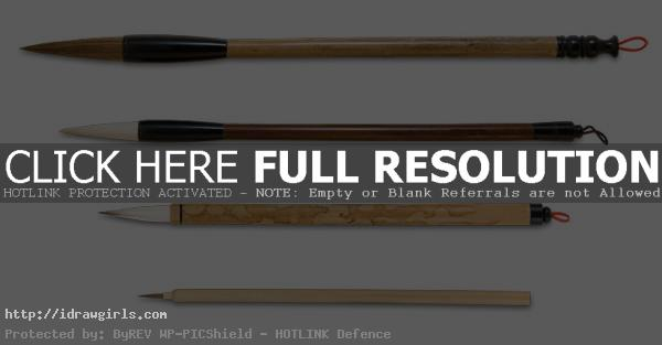 chinese brush set for painting