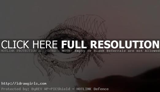 How to draw eye with pen