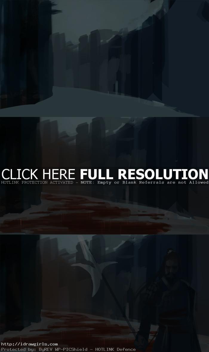 digital painting tutorial three kingdoms part1