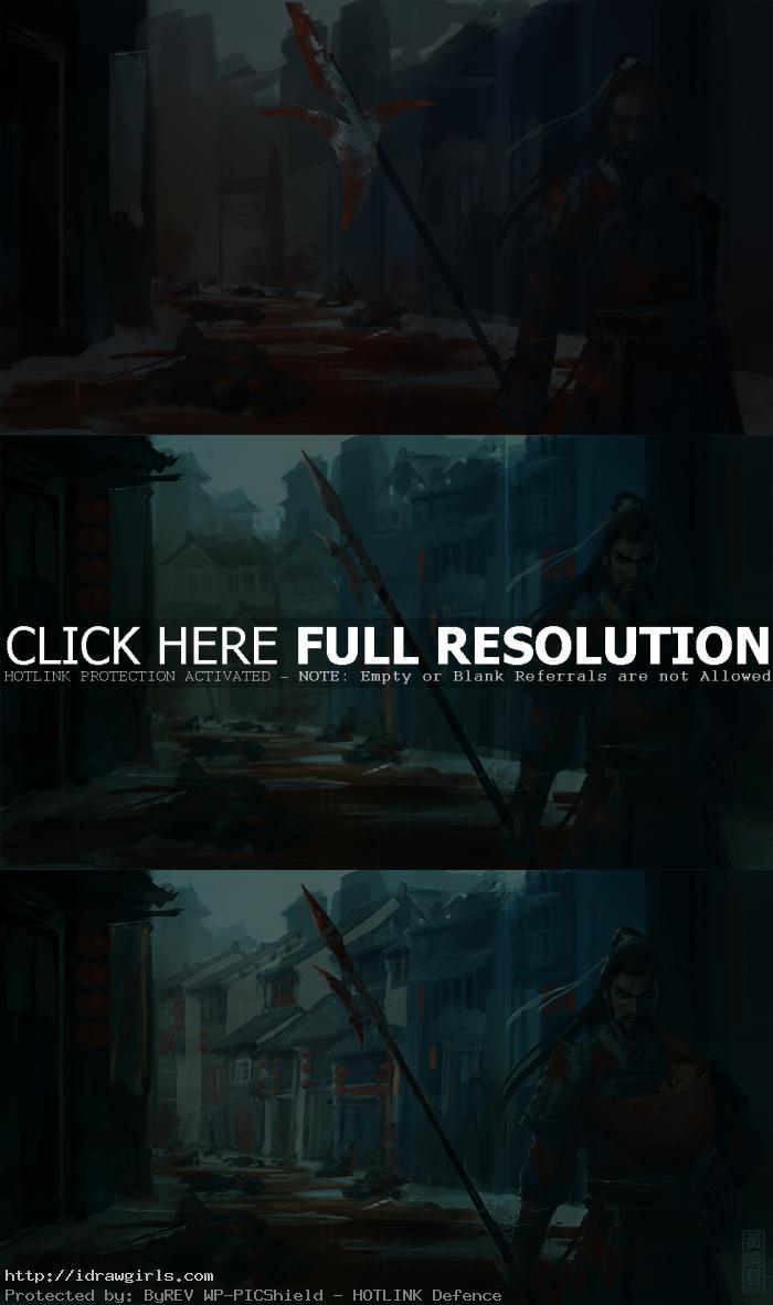 digital painting tutorial three kingdoms part2