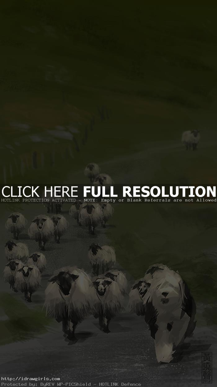 Sheepdog speedpainting