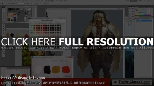 improve your painting skill with color palette