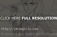 How to draw Manga Maka Soul Eater