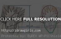 How to draw Anime Kenpachi Bleach