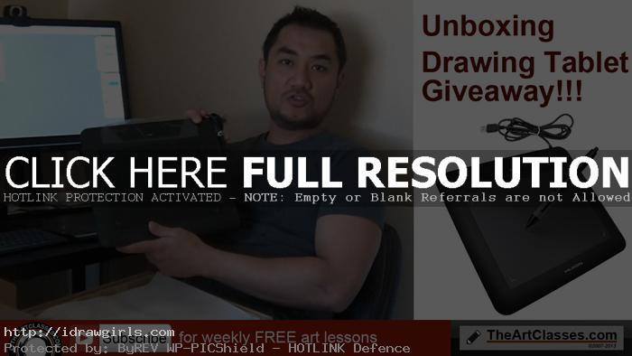 giveaway-unboxing-huion-tablet-april-2016