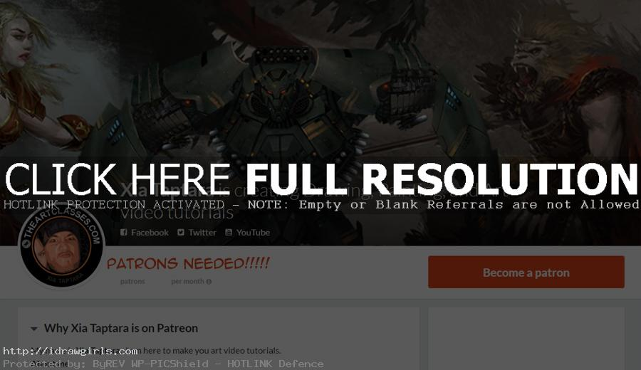 drawing art tutorials patreon