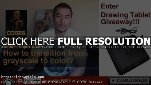 How to transition from grayscale to color