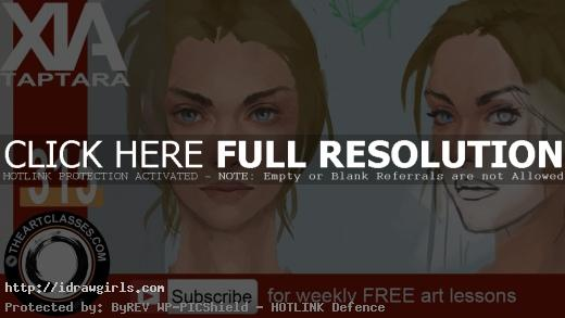 portrait painting demo
