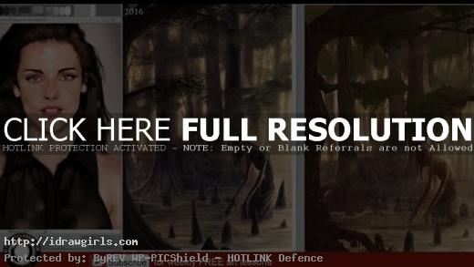 Patreon art critique and paint over Sept 2016