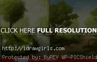 Patreon critique and paintover Forest environmental concept